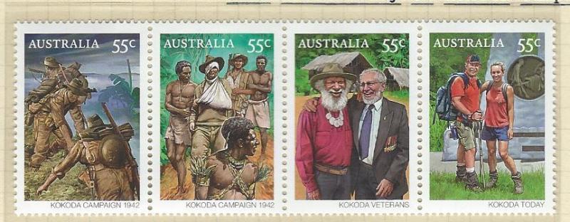 Australia   mnh strip  s.c.#  3244 - 3248
