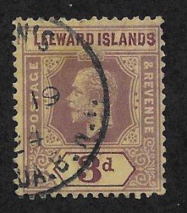 LEEWARD ISLANDS SC# 51  F/U 1912
