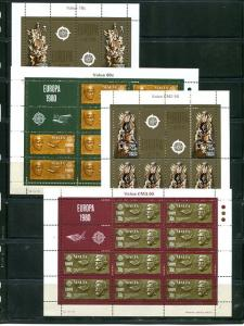 Malta 1978  Europa mini sheet   Mint VF NH