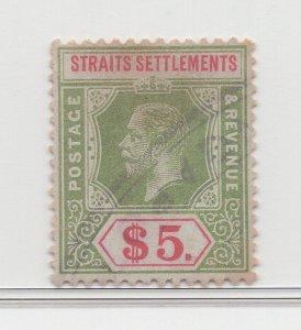 Malaya Straits Settlements - 1912-23 - SG212 - $5 - used #757