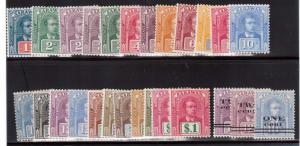 Sarawak #50 - #70 #77 #78 #78a & Extra Shades Of #61a #70 VF Mint