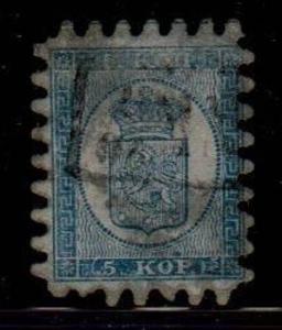 Finland Scott 4a Used (Catalog Value $275.00)