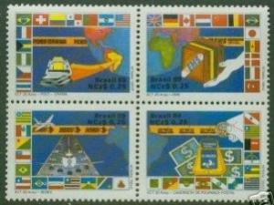 Brazil #2163 F-VF Mint NH ** Postal Service