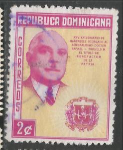 DOMINICAN REPUBLIC 497 VFU Z865-3