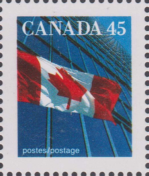 Canada - #1361as - 1995 45c Flag Ex Booklet VF-NH