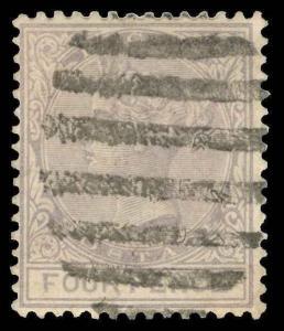 Lagos Scott 23 Variety Gibbons 24w Used Stamp