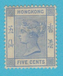 HONG KONG 40 MINT HINGED OG * NO FAULTS VERY  FINE !