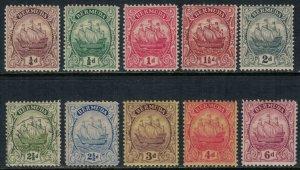 Bermuda #81-7,9-91*/u  CV $44.70