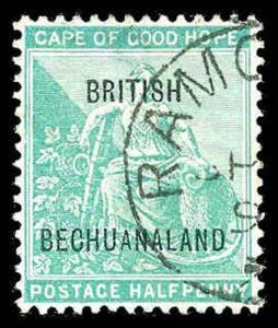 BECHUANALAND 41  Used (ID # 85598)