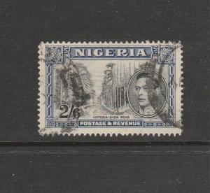 Nigeria 1938 2/6 P14 Used SG 58b, good perfs