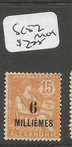 French Alexandria SC 52 MOG (9cpp)