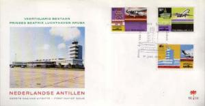 Netherlands Antilles, First Day Cover, Aviation