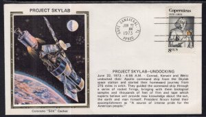 US Space Project Skylab Undocking 1973 Colorano Cover