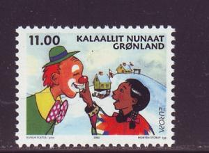 Greenland Sc 396 2002 Europa stamp mint NH