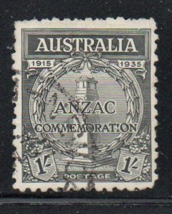 Australia Sc 151 1935 1/ War Memorial stamp used