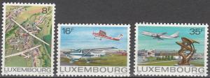 Luxembourg #663-5 MNH F-VF  CV $2.80 (SU3828)