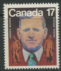STAMP STATION PERTH Canada #899 Aaron Mosher Issue 1981 MNH CV$0.25