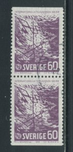 Sweden 682  Used pair (7