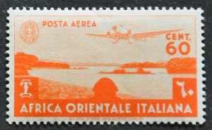 DYNAMITE Stamps: Italian East Africa Scott #C3 – MINT hr