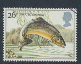 Great Britain SG 1209 - Used - River Fish