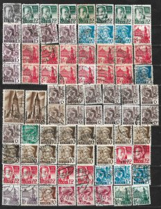 COLLECTION LOT OF 66 GERMANY  BADEN 1945+ STAMPS CLEARANCE CV+ $76