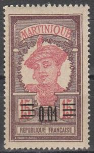 Martinique #108 MNH F-VF   (V3310)