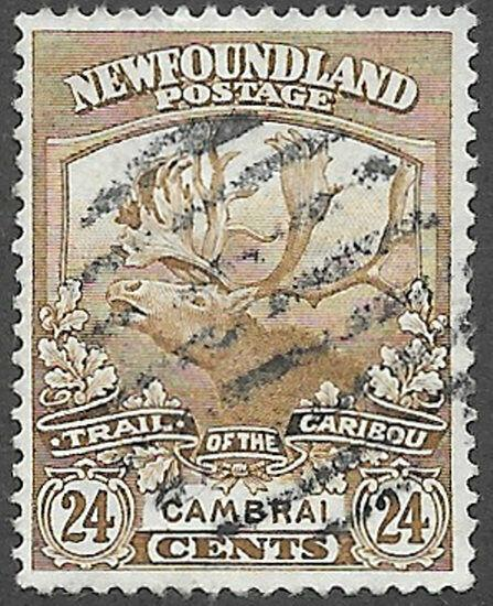 Newfoundland Scott Number 125 VF Used