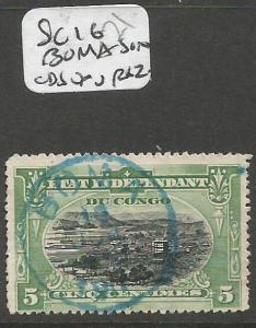 Belgian Congo SC 16 Boma SON CDS VFU (10cid)