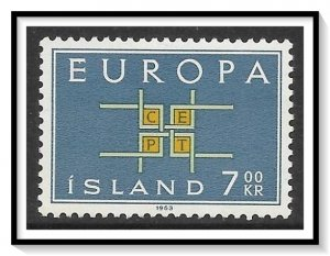 Iceland #358 Europa MH