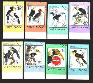 Vietnam. 1977. 898u-905u. Birds, fauna. USED.