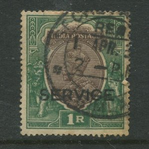 STAMP STATION PERTH India #O90 KGV Service Issue Used CV$0.90.