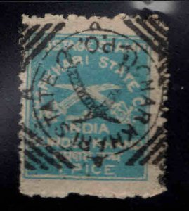 India - Charkhari Feudatory state  Scott 10 Used