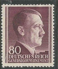 Poland (General Government)    Scott # N93 - MH