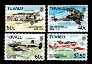 Tuvalu 763-766 Mint NH Royal Air Force!