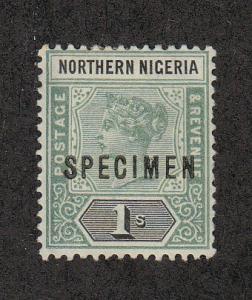 Northern Nigeria Scott #SG7 Specimen Ovpt Unused