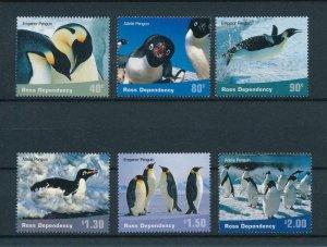 [102948] Ross Dependency 2001 Birds vögel oiseaux penguins  MNH