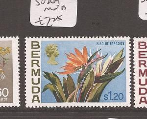 Bermuda Flowers SG 264 MNH (1dbm)