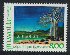 Mayotte Baobab Tree 1v SG#94