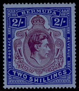 BERMUDA GVI SG116a, 2s deep reddish purple & ultram/grey-blue, M MINT. Cat £350.