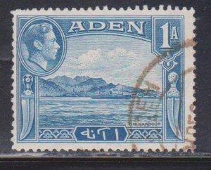 ADEN Scott # 18 Used - KGVI & View Of Harbour
