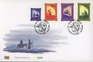 Ireland 1275-8 FDC cover christmas (2110 193)