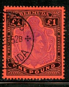 Bermuda # 128, Used. CV $ 62.50.