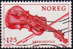 Norway. 1978 1k25 S.G.828  Fine Used