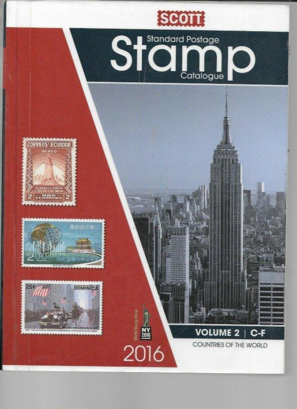 Scott 2016 Catalog Vol 2 C-F Previous Library Book