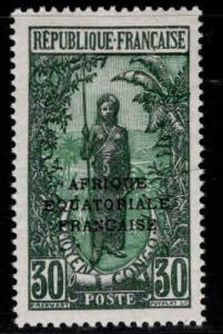 Middle Congo Scott 36 MH* stamp