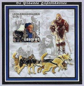 Mozambique - Paul-Émile Victor -  Stamp S/S - 1640