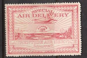 Canada #CL3 VF Mint