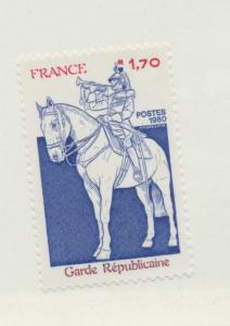 France Scott #1717, Mint Never Hinged MNH, Guardsman Issue From 1980 - Free U...