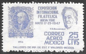 [24222] Mexico # C167 Mint Never Hinged