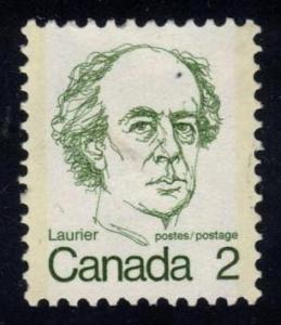 Canada #587 Sir Wilfrid Laurier, used (0.20)